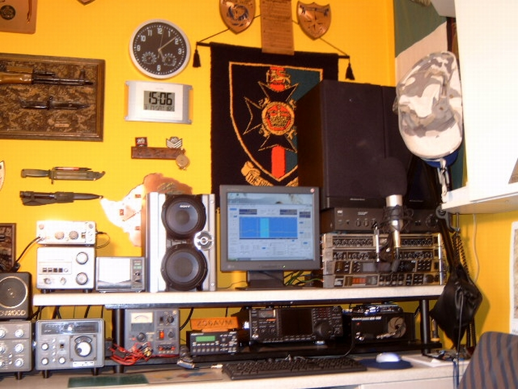 The ZS6AVM Voodoo Audio Shack!